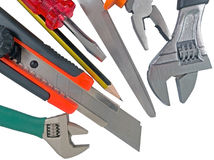 The used tools Royalty Free Stock Photography