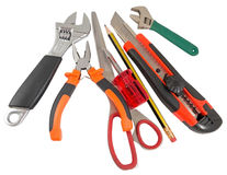 The used tools Royalty Free Stock Images