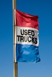 Used Trucks Flag Stock Images