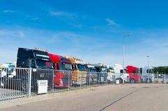 Used trucks Royalty Free Stock Image