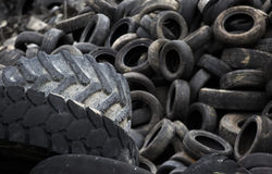 Used tyre Royalty Free Stock Image