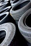 Tyre`s at Garage Royalty Free Stock Photos