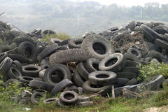 Used tyres new Royalty Free Stock Photo