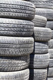 Used tyres Stock Photography