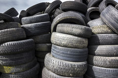 Used Tyres. Stock Image