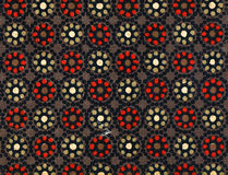 Used vintage wallpaper - Dots Stock Images