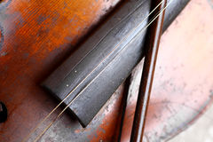 Used violin Royalty Free Stock Photography