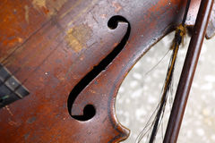 Used violin Royalty Free Stock Images