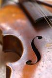 Used violin Royalty Free Stock Photos