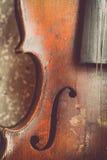 Used violin Stock Photo