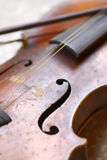 Used violin Royalty Free Stock Photo