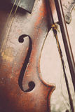 Used violin Stock Photography