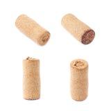 Used wine cork plug isolated Stock Image