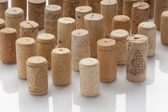 Used Wine Corks Royalty Free Stock Photo
