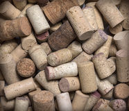 Used Wine Corks close up Royalty Free Stock Photo
