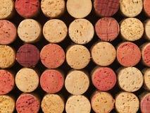 Used Wine Corks Pattern Stock Photos