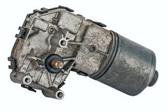 Used wiper motor Stock Photo
