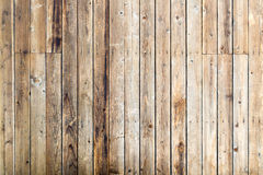 Used Wooden Deck Stock Photo