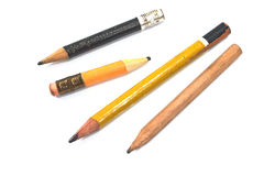 Used wooden pencil Royalty Free Stock Photography