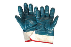 Used Working Gloves Royalty Free Stock Photo