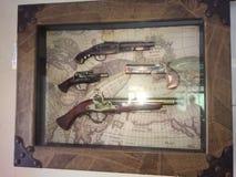 Rare guns stock photo