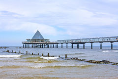 Usedom, Heringsdorf pier Royalty Free Stock Photo