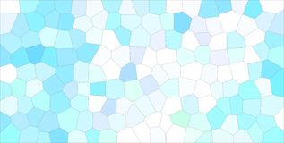 Useful abstract illustration of blue, green and white light Middle size hexagon. Handsome background for your work. Useful abstract illustration of blue, green royalty free illustration