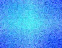 Useful abstract illustration of blue Impressionism Impasto paint. Stunning background for your prints. stock image