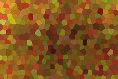 Useful abstract illustration of brown and red bright Little hexagon. Lovely background for your needs. Useful abstract illustration of brown and red bright stock illustration