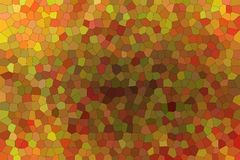 Useful abstract illustration of brown and red bright Small hexagon. Stunning background for your prints. Useful abstract illustration of brown and red bright stock illustration