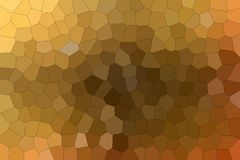 Useful abstract illustration of brown and red colorful Middle size hexagon. Good background for your design. Useful abstract illustration of brown and red vector illustration