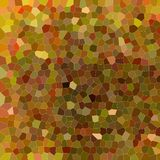 Useful abstract illustration of brown and red variative colors Small hexagon. Lovely background for your needs. Useful abstract illustration of brown and red stock illustration