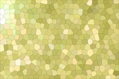 Useful abstract illustration of Green and Yellow pastel Little hexagon. Good background for your design. Useful abstract illustration of Green and Yellow pastel royalty free illustration