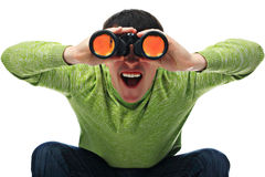 Useful binocular Royalty Free Stock Image
