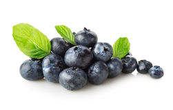 Useful blueberries Royalty Free Stock Images