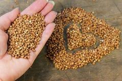 The useful buckwheat Stock Photo