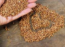 The useful buckwheat Royalty Free Stock Photo