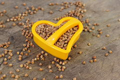 The useful buckwheat. Buckwheat medication for the cardiovascular system Royalty Free Stock Image