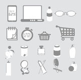 Useful Clipart Domestic Items Royalty Free Stock Photo