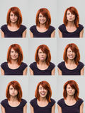 Useful faces Royalty Free Stock Photo