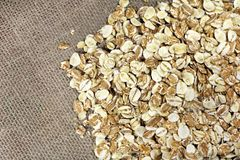 useful flakes 4 cereals Royalty Free Stock Photo