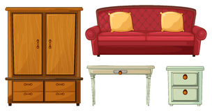 Useful Furnitures Royalty Free Stock Photo