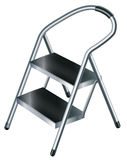 A useful ladder. Illustration of a useful ladder on a white background Royalty Free Stock Photo