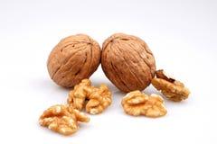 Free Useful Organic Walnuts, Close-up, Isolated On White Background. Royalty Free Stock Images - 182726149