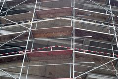 Useful scaffolding Royalty Free Stock Photo