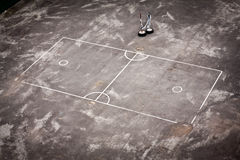 Useful sports field. Can be play many kinds of sports Stock Photo