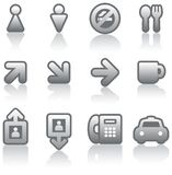 Useful Vector Icons Set Royalty Free Stock Photography