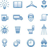 Useful Vector Icons Set Stock Photo
