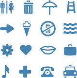 Useful Vector Icons Set Stock Photos