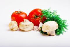 Useful vegetables Royalty Free Stock Photos